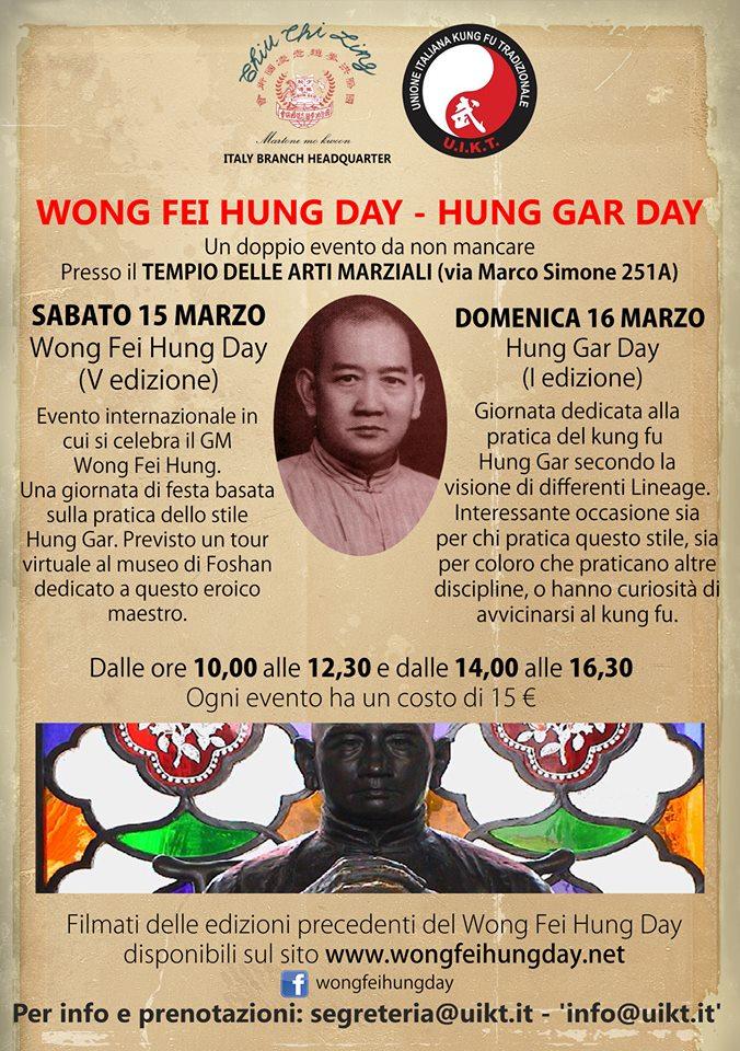 Wong Fei Hung Day 2014