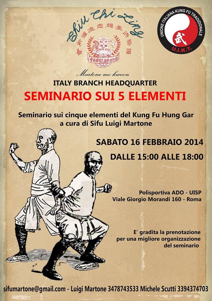 Seminario 5 elementi 2014