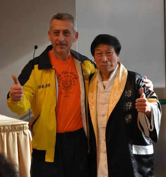 Grand Master Chiu Chi Ling e Sifu Luigi Martone (2015)