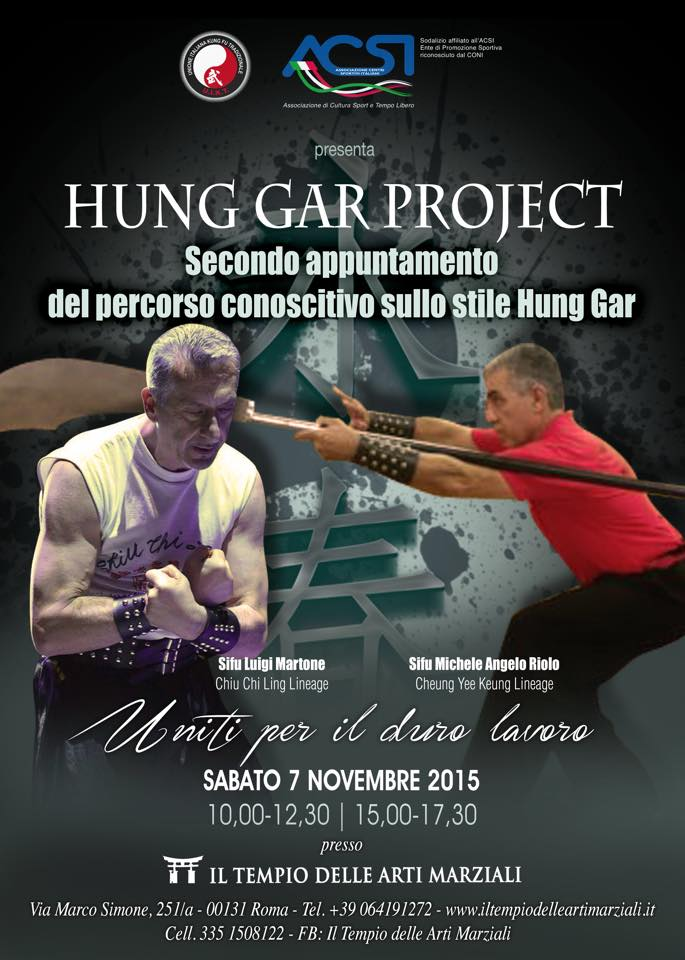 Hung Gar Project 2015